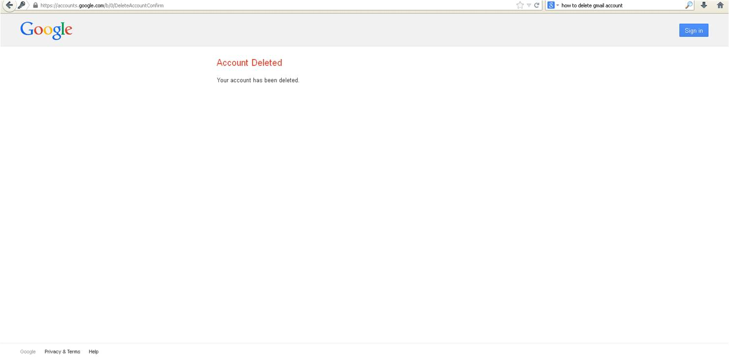 How to delete google wallet account